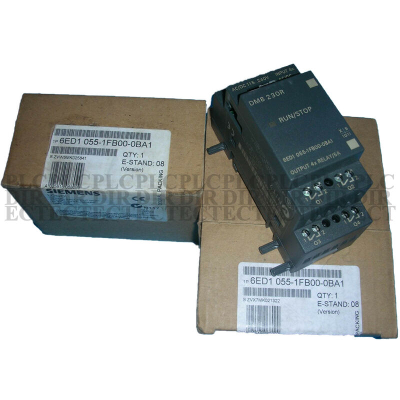 Brand New in Box SIEMENS 6ED1 055-1FB00-0BA1 6ED1055-1FB00-0BA1 DM8 230R PLC