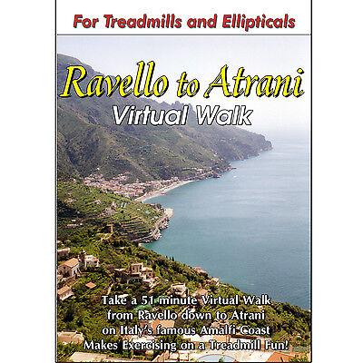 RAVELLO, ITALY TREADMILL WALK DVD SCENERY VIDEO : LOW IMPACT EXERCISE FITNESS !