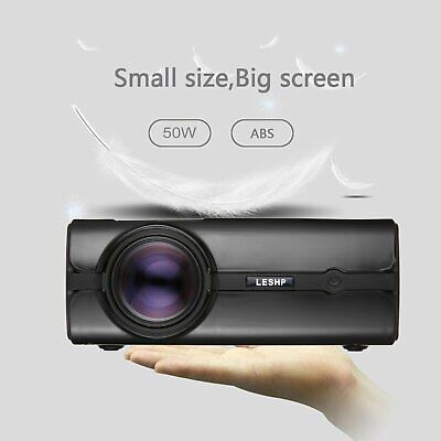 5000 lumens Portable Mini LED Heimkino Beamer Projektor 1080P HD 3D HDMI,VGA,USB Hd Portable Mini