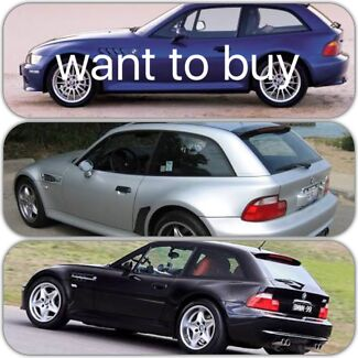 Wanted: Bmw z3 coupe wanted to buy