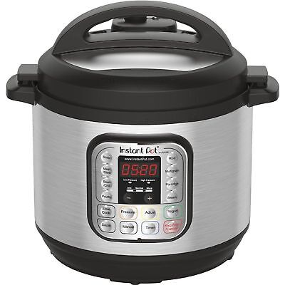 Instant Pot IPDUO80 7in1 Programmable Electric Pressure Cooker, 8 Qt - Display