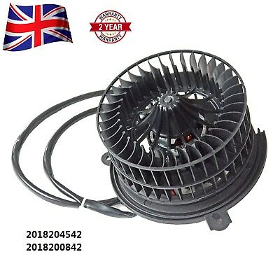 NEW 2018204542 Heater Fan Blower Motor Fits Mercedes-Benz 190 W201 E 2.0 2.3 2.5