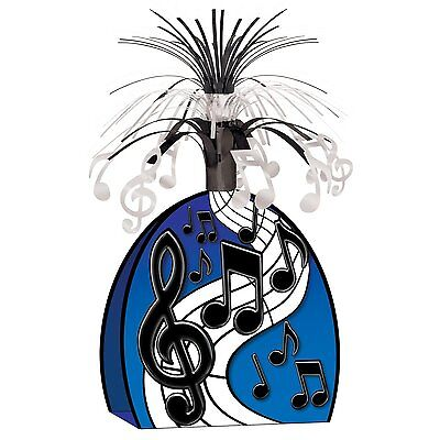 Music Note Centerpiece Decorations (Musical Notes Centerpiece Rock Star Party)