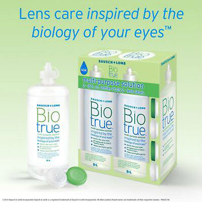 Bausch   Lomb Biotrue Multi Purpose Solution Contact Lens Drops 32 Oz