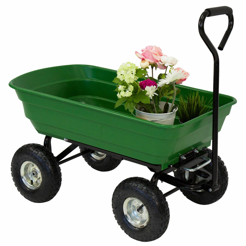 Garden cart wheels compact laser measuring tool