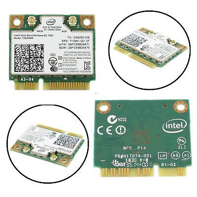 Intel 7260HMW  WiFi+Bluetooth 4.0 PCIe Half Mini Wifi Card Wireless-AC DUAL BAND