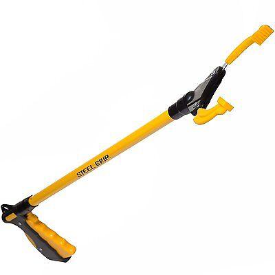 "Steelgrip Industrial Heavy Duty Pick Up Tool 36"" Handicap Reacher Grabber Trash"