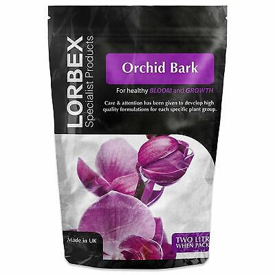 Doff Lorbex Specialist Orchid Bark High Quality Superior Pine Bark Compost- 2ltr