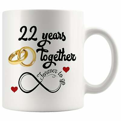 22nd Wedding Anniversary Gift For Him And Her Married For 22 Years ()