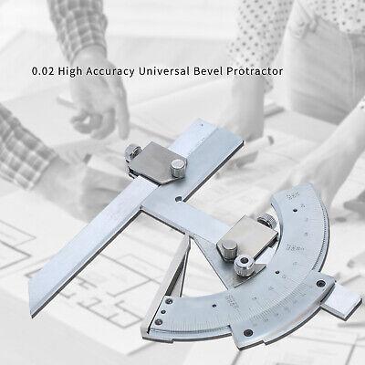 Universal Bevel Protractor Angle Finder Measuring Ruler Tool 0-320°Carbon Steel