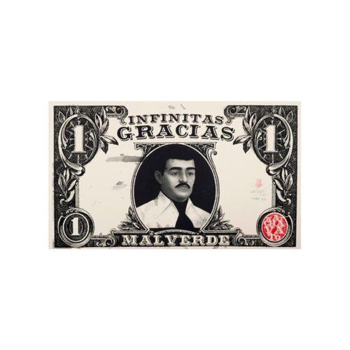 Jesus Malverde  Tarjeta De Rezo para billetera En  Español Solamente