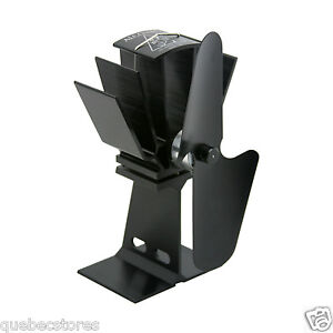 Caframo Ecofan® Alcona Wood Stove Fan Heat Powered Wood pellet T805B