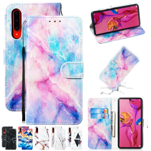 For Samsung Galaxy S10 5G S10 Plus S9 S8 S7 Strap Leather Ca