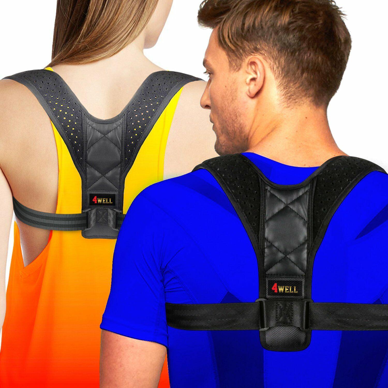 4well Posture Corrector for Women Men   Rounded Shoulders Ul