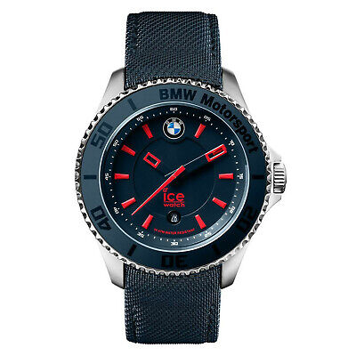 Ice Bmw Motorsport ICE-001114 Blue Leather Quartz Fashion Watch