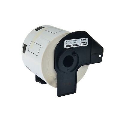 1 Roll 29mm Address Label For Brother Dk1209 Dk-1209 Ql-1050 Ql-1050n Ql-700