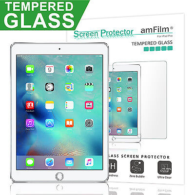 """iPad Pro 12.9"""" 1st and 2nd Generation amFilm Tempered Glass Screen Protector"""