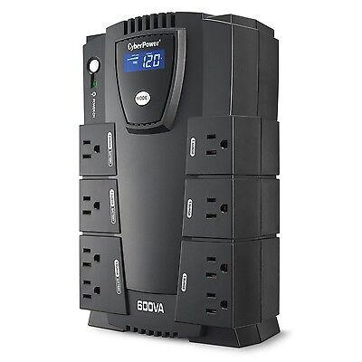 Cyberpower Power Surge Protector Ups Intelligent Lcd Batt...