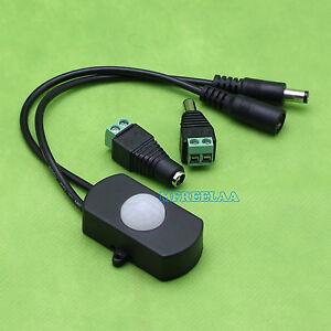 1PCS Mini DC 12V 24V LED Strip Automatic PIR Body Infrared Motion Sensor Switch