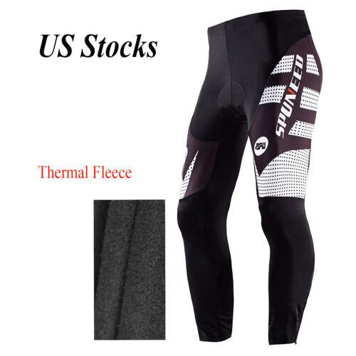 *Fleece Thermal Winter Cycling Pants Bike Outdoor Windproof Tights waterproof