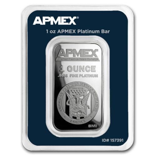 1 oz Platinum Bar - APMEX (In TEP Package) - SKU#157391