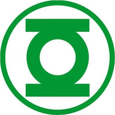 Green Lantern Superhero Vinyl Sticker Decal for Cars Trucks Laptops - Green Superhero