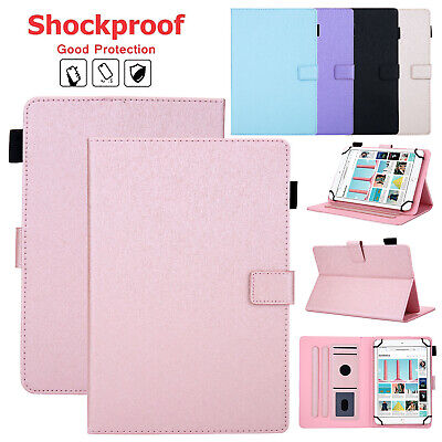 Universal Flip Leather Stand Folio Case Cover For 7