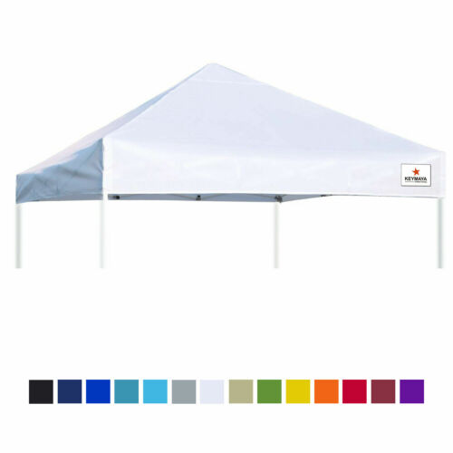 10x10 Replacement Canopy Roof Top OnIy Instant Canopy Cover