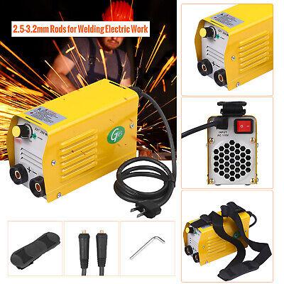 Mini Electric Welding Machine Arc Stick Weld-er Dc Igbt Inverter Zx7-200 E3r9