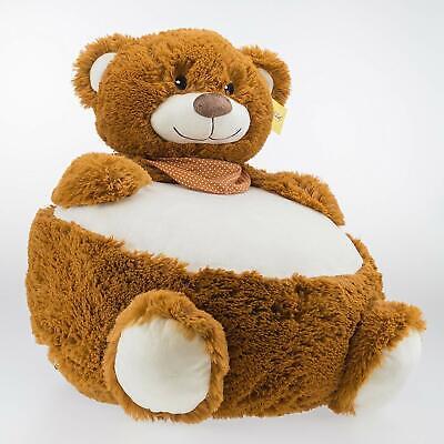 Bambia Baby Kinder Sitzsack Sitz Bär Teddybär Kuschelbär