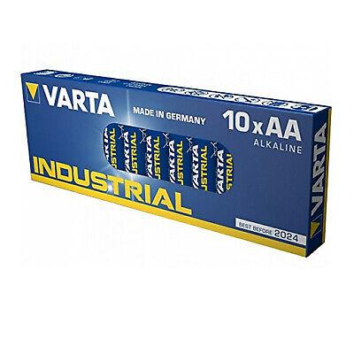 10 Stk AA AAA Batterien   VARTA Industrial   Mignon Micro   LR6 LR03   10er