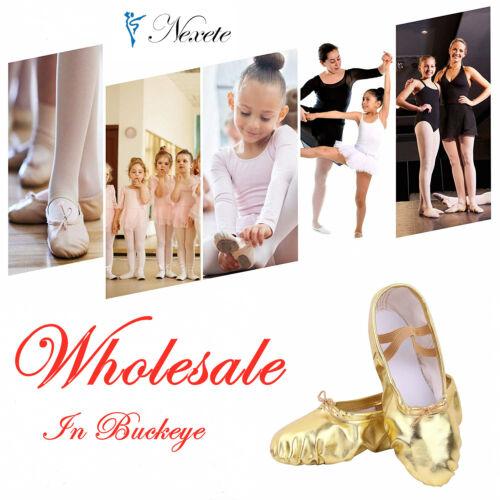 Wholesale---Ballet Dance Shoes  Canvas Slipper Kids & Adult  OHIO Wholesale