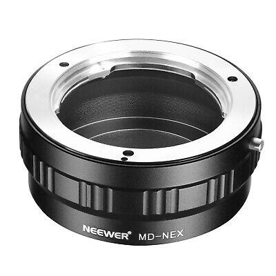 Neewer Adaptador de montaje de lente para Minolta MD MC Lente a...