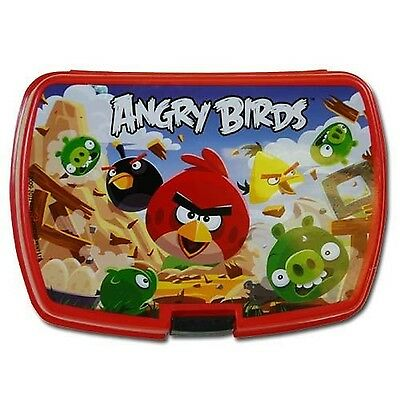 New Angry Birds Rectangle Plastic Storage Box