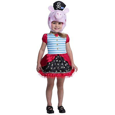 Palamon Peppa Pig Pirate Costume For Toddlers (2T)](Pirates Costumes For Toddlers)