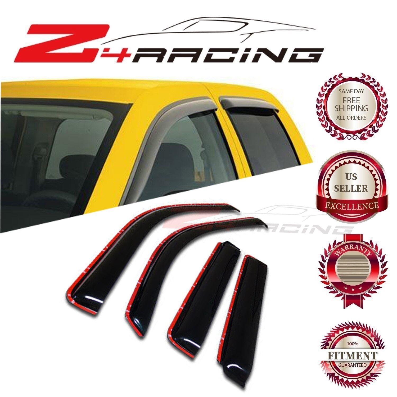 Window Visor For 2002 2003 2004 2005 2006 2007 2008 2009 Envoy Trailblazer