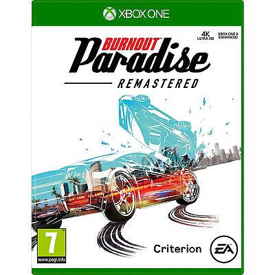 Burnout Paradise Remastered VIDEO GAME POUR XBOX ONE consoles de jeux scellé