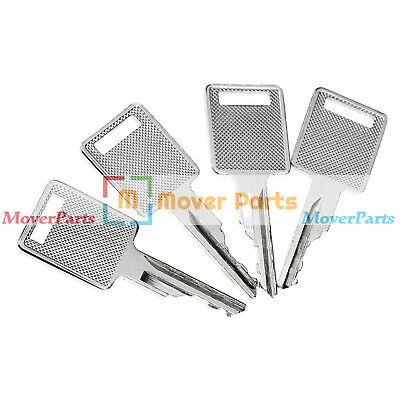 4x Ignition Key For Bobcat S175 S185 S205 S220 S250 S300 S330 S510 S530 S650