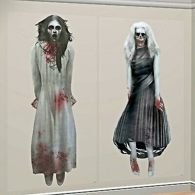 S SCENE SETTER GOTHIC ZOMBIE PARTY WALL DECORATION ADD ONS (Scene Setter Halloween)