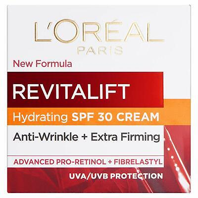 L'Oreal Paris Revitalift, Anti Wrinkle Face Creams, Pro Retinol Day Cream SPF30