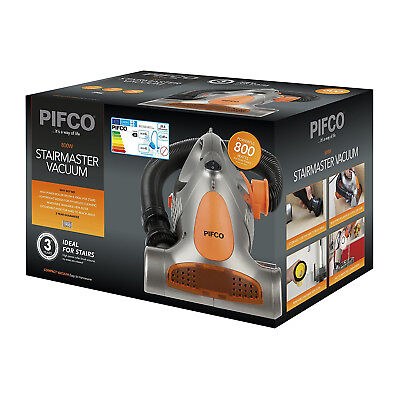 Pifco P28006S Stairmaster Silver 800W Hand Held Vacuum Cleaner - Grade A