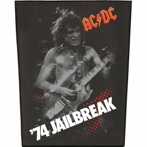 Large AC/DC Jailbreak Woven Sew On Battle Jacket Back Patch