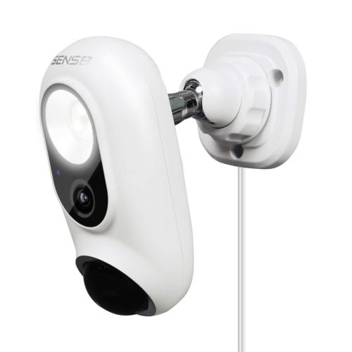 SENS8 Outdoor Camera with Light, 1080p HD, Wi-Fi Home Securi