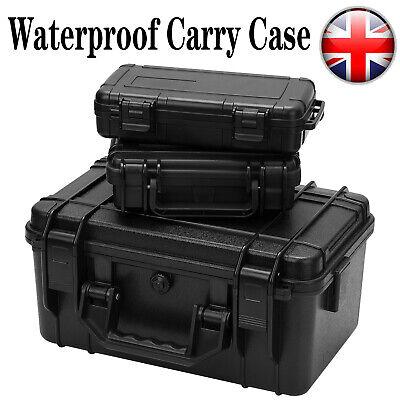 Waterproof Hard Plastic Carry Case Camera Storage Tool Box Portable Organizer UK