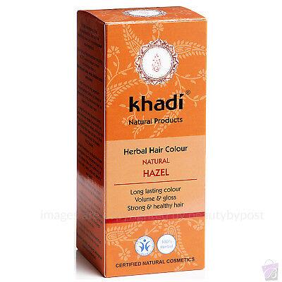 Khadi Herbal Hair Colour Natural Hazel Pure Natural Botanical Dye100g