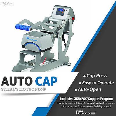 Stahls Hotronix Auto-open Cap Heat Press Free Fedex Ground Shipping