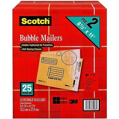 Scotch Bubble Mailers - size 2 (8.5