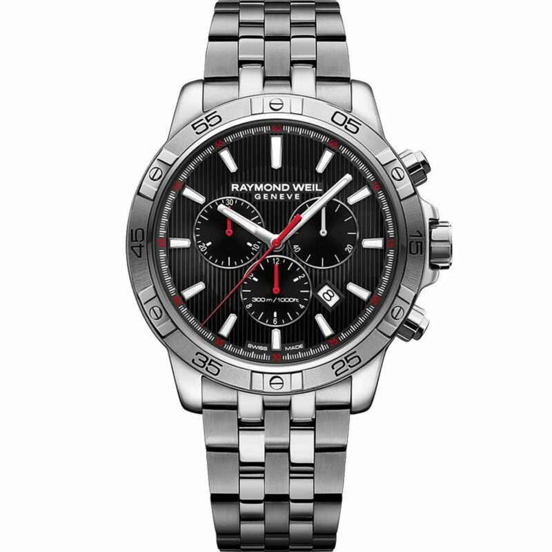Raymond Weil 8560-ST2-20001 Men Tango Black Quartz Watch