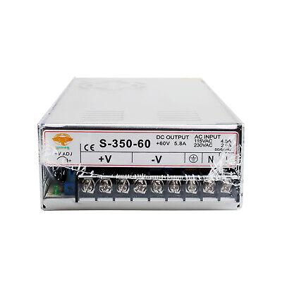 Us Ship1pc Power Supply 350w-60v Input Voltage 90132vac180-264vacoutput 60vdc