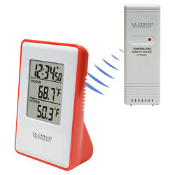 308-1910R La Crosse Technology Wireless Thermometer Weather Station TX191 - Red
